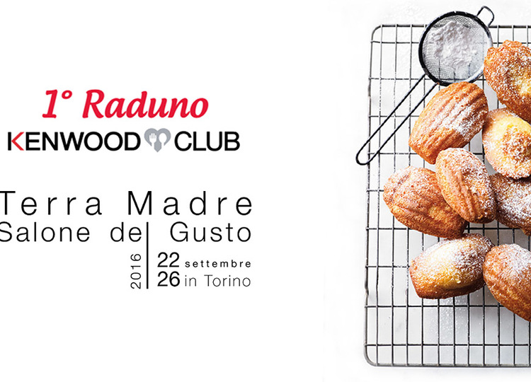 Preview locandina salone del gusto kenwood club