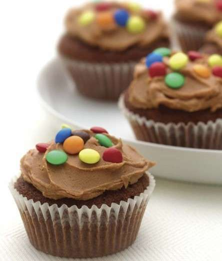 Cupcakes al cioccolato e caramello