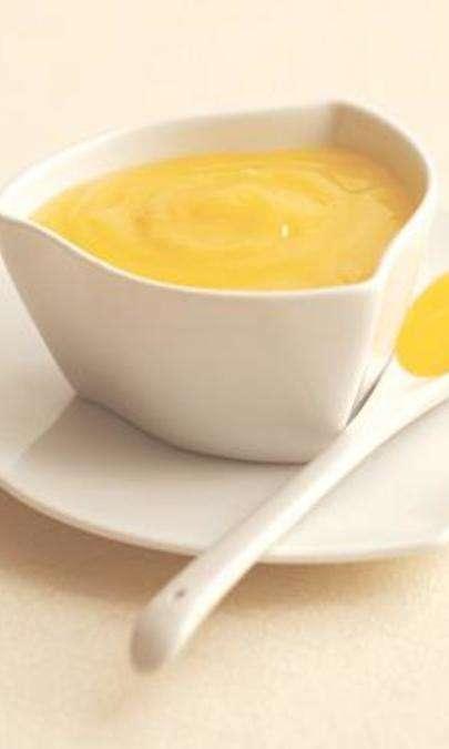 Tortino alla crema di limone gratinato