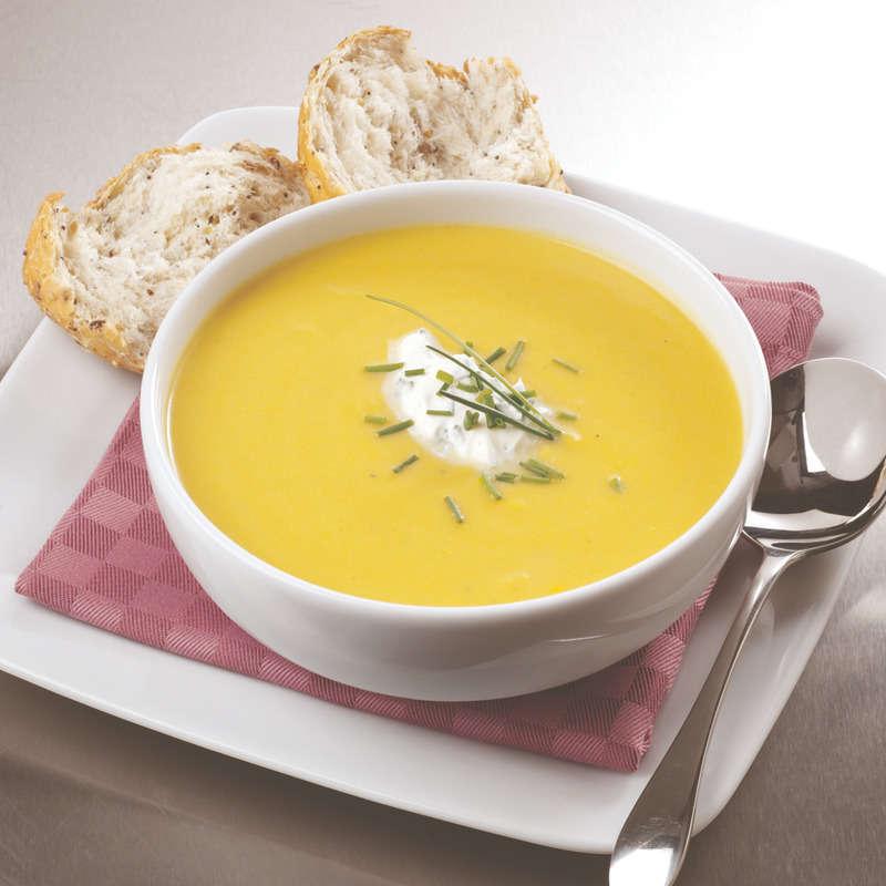 Zuppa di castagne e mais
