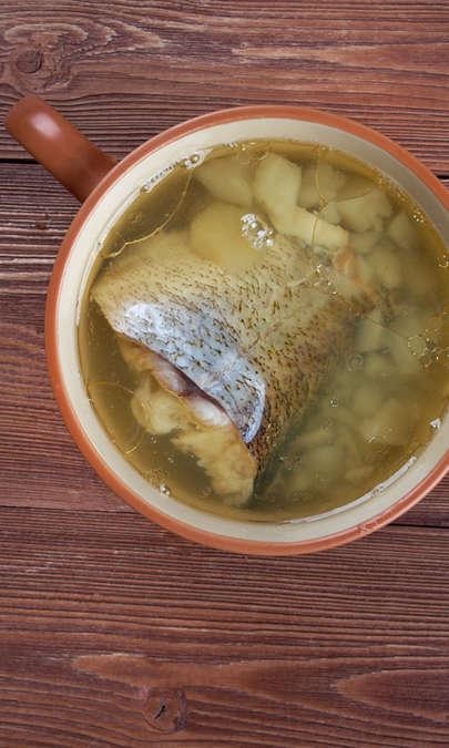 Zuppa di merluzzo affumicato