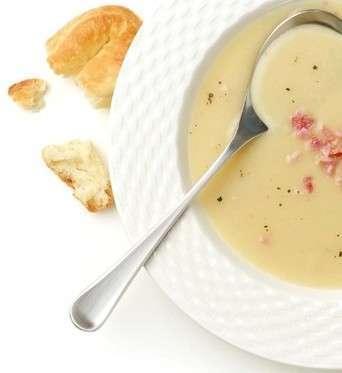 Zuppa speziata di patate dolci