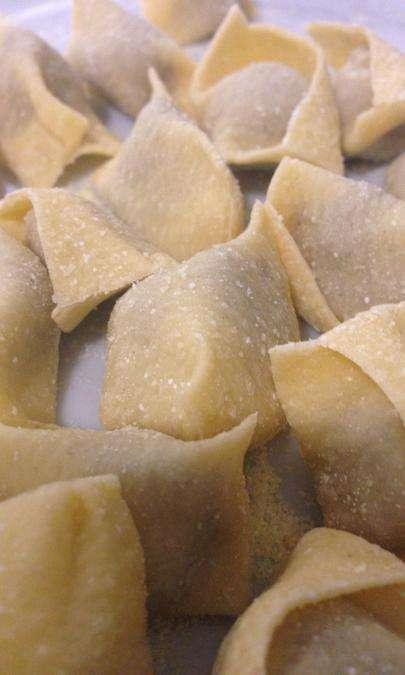 Ravioli del Plin al fois gras