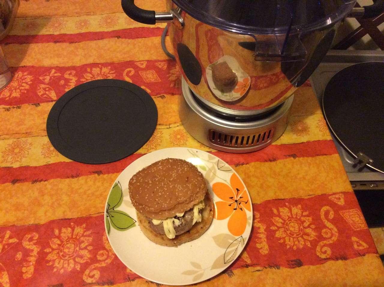 Hamburger provola e grana