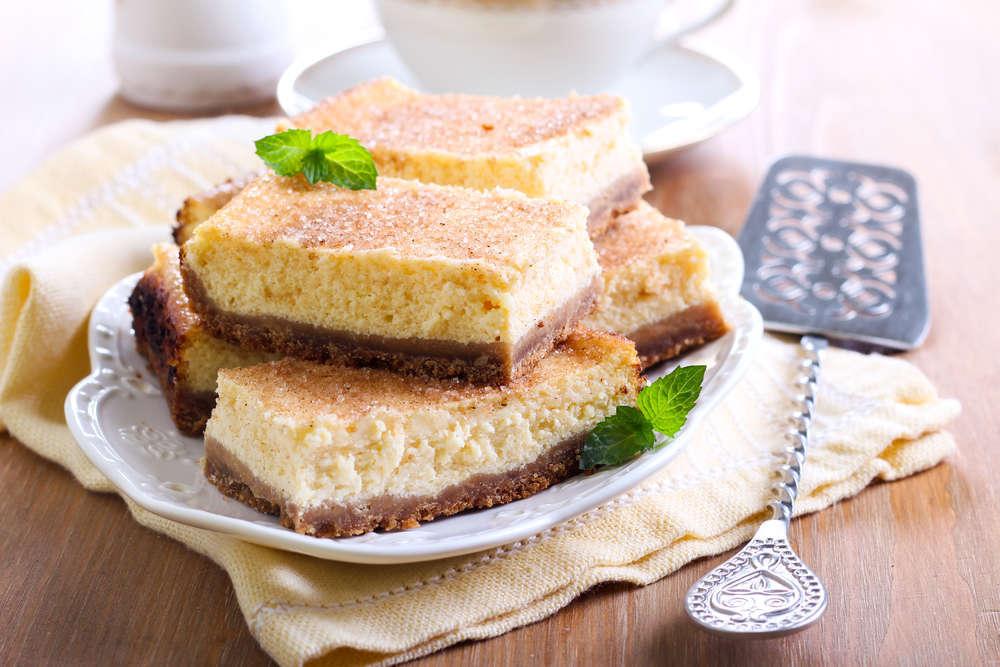 Torta al miele, ricotta e cannella
