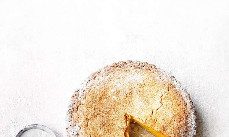 Torta di Polenta al Limone