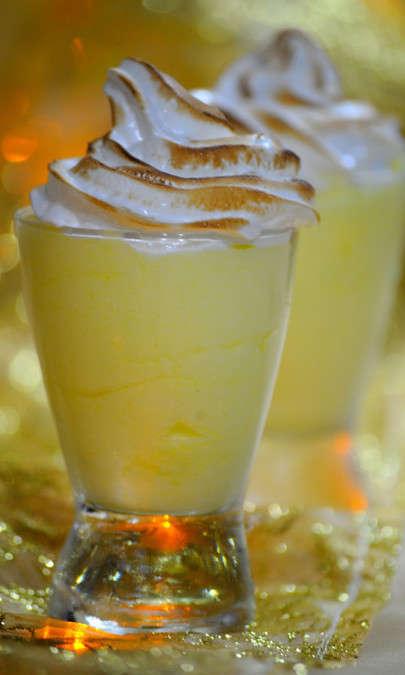 Mousse di limone meringata