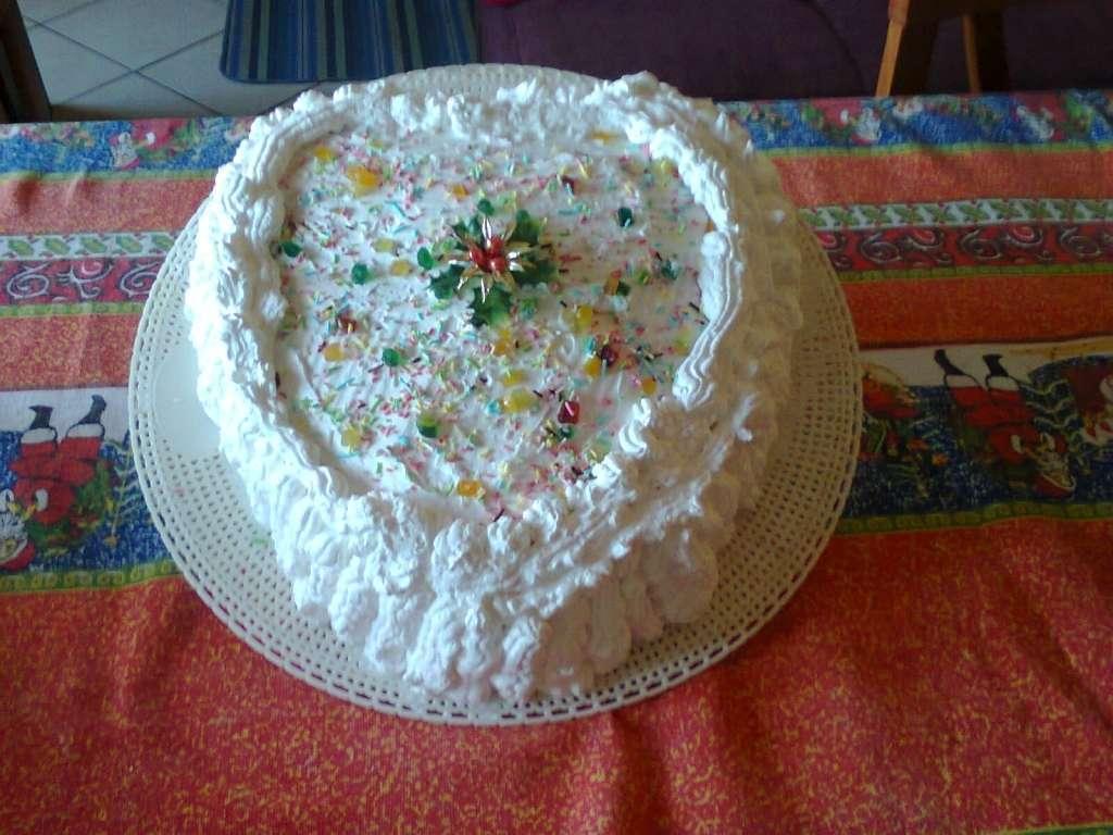 torta nera cn panna e nutella