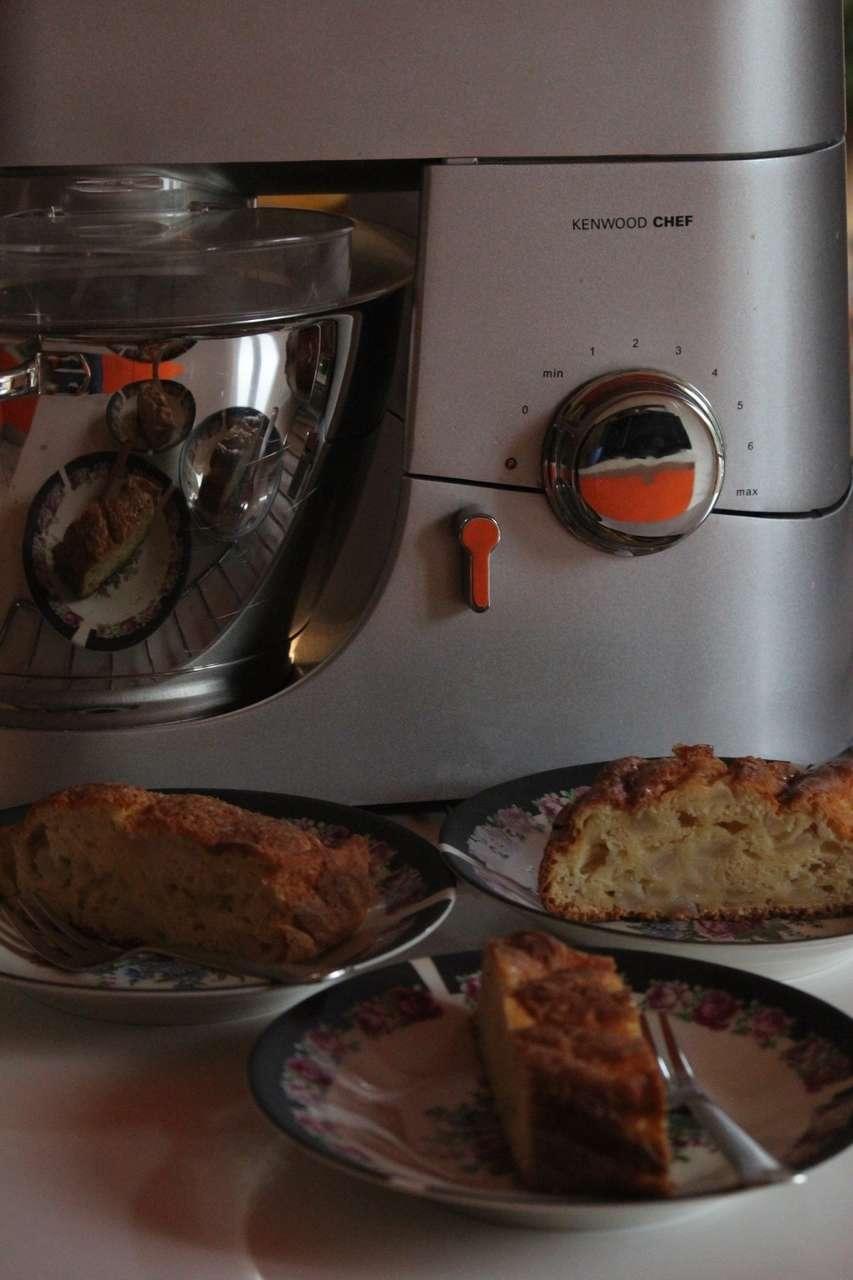 Plum cake alle pere e profumo di arancia