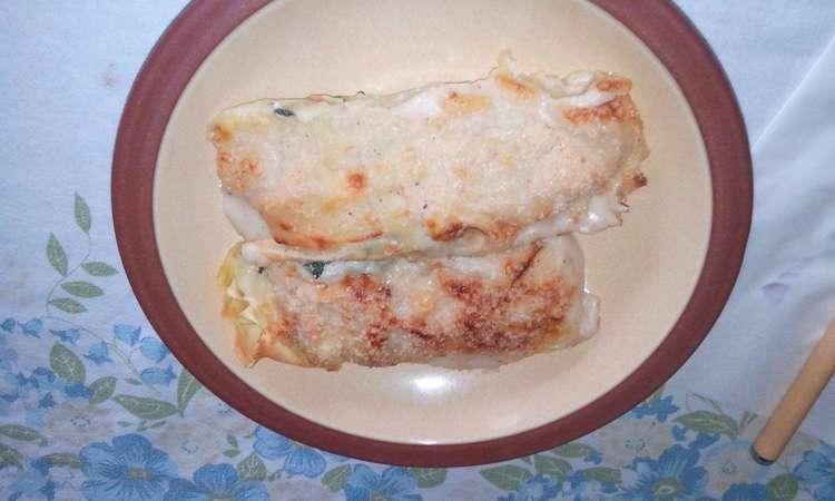 Cannoli al kamut ricotta e spinaci