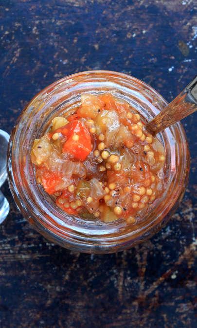 Chutney di zucchine