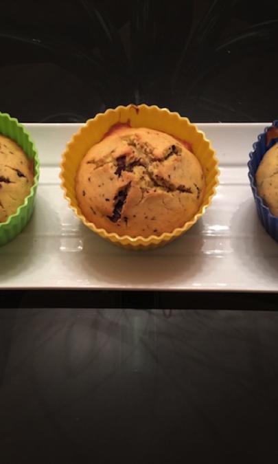 Muffin zucca e cioccolato