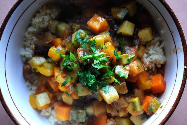 Cous cous di verdure