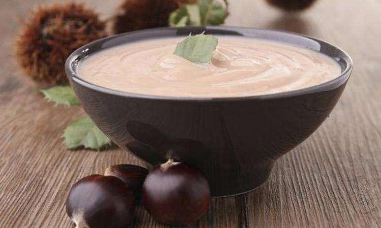 Crema di castagne con aromi di tartufo