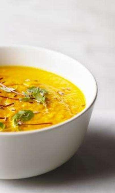 Crema di carote al curry