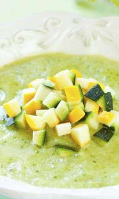 Crema di zucchine con Roquefort