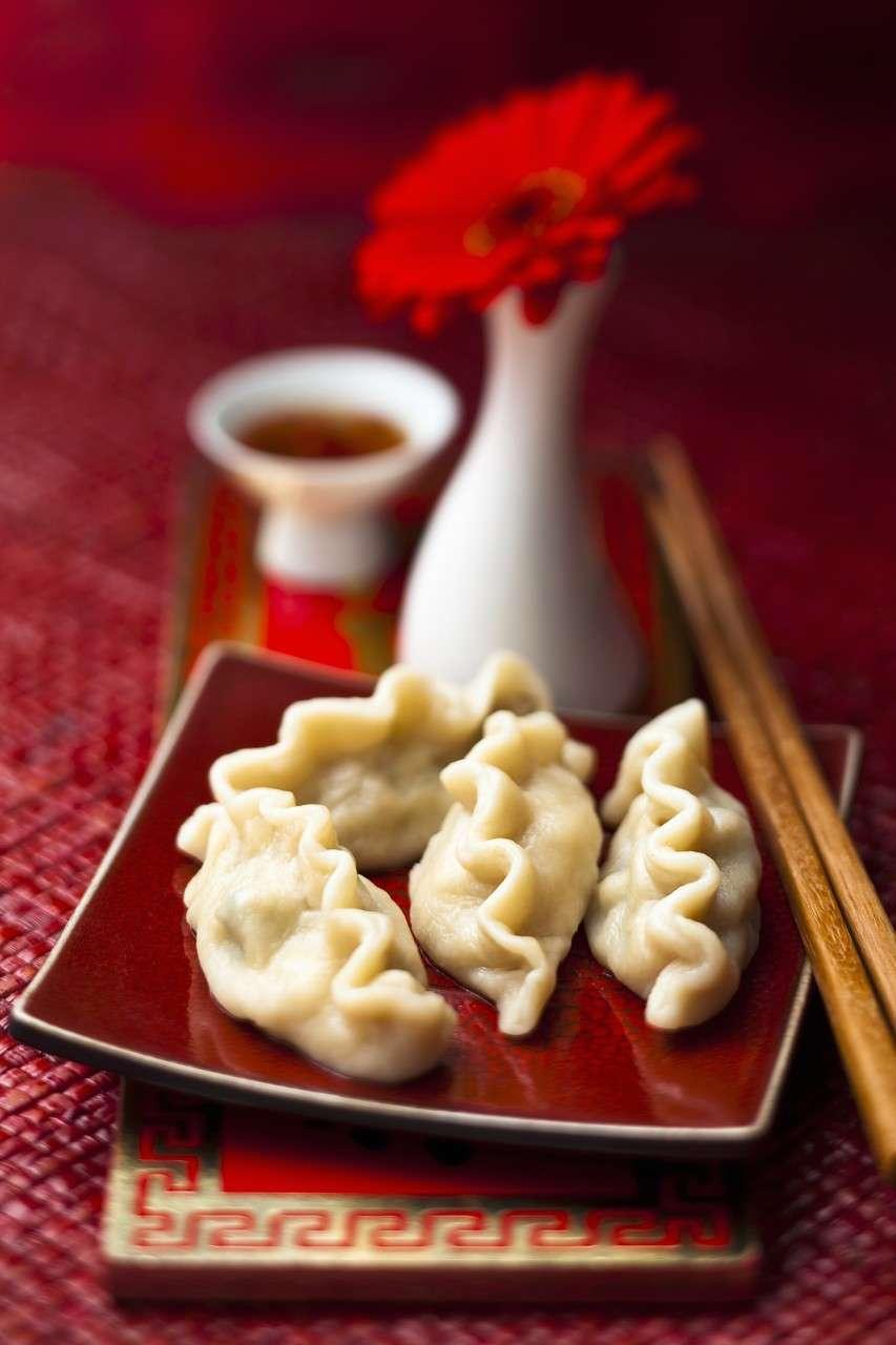 Ravioli cinesi al vapore - Jiaozi -