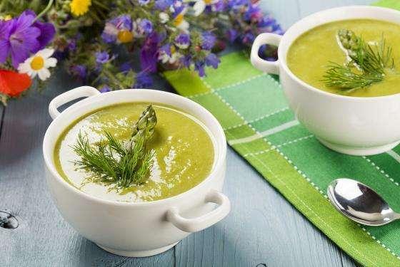 Crema di asparagi e pepe nero