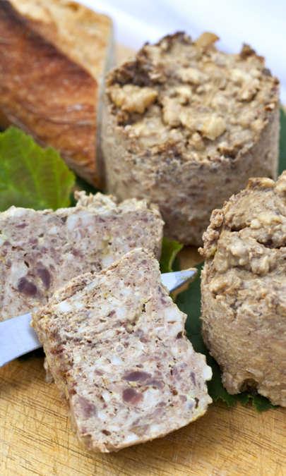 Patè di campagna ai funghi