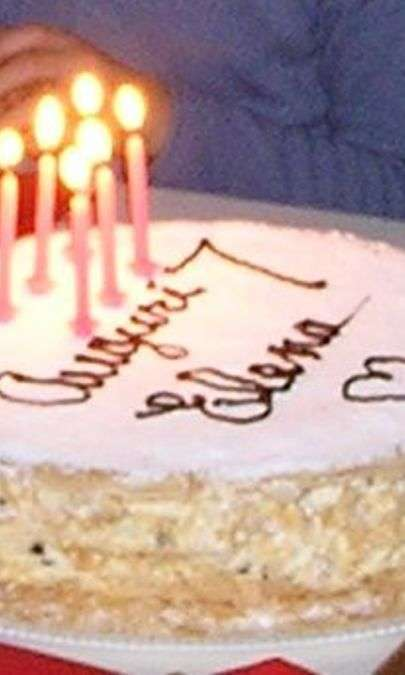 Torta Millefoglie per compleanno