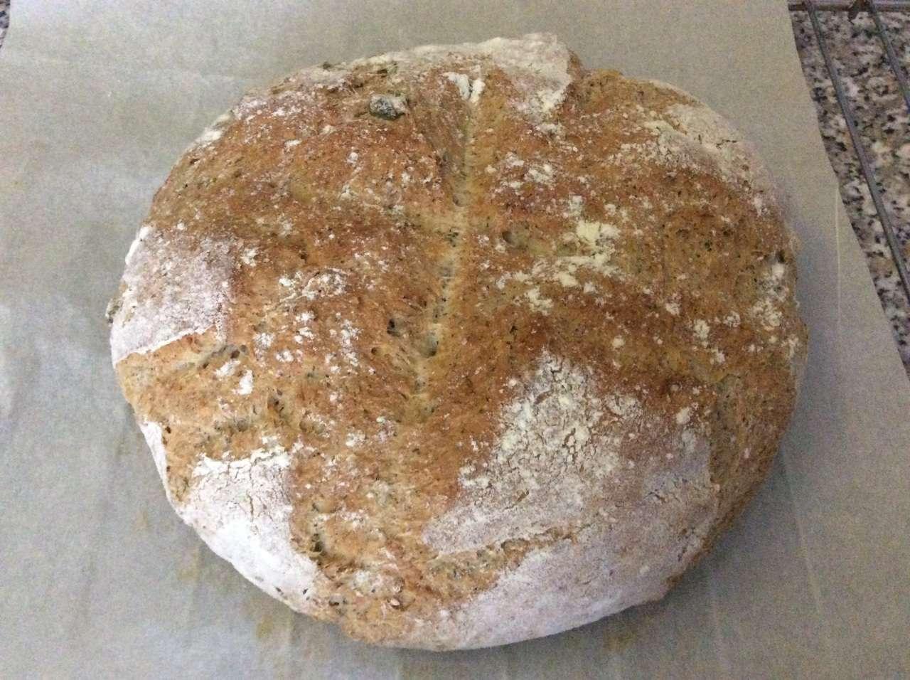 Pane grano saraceno e farro