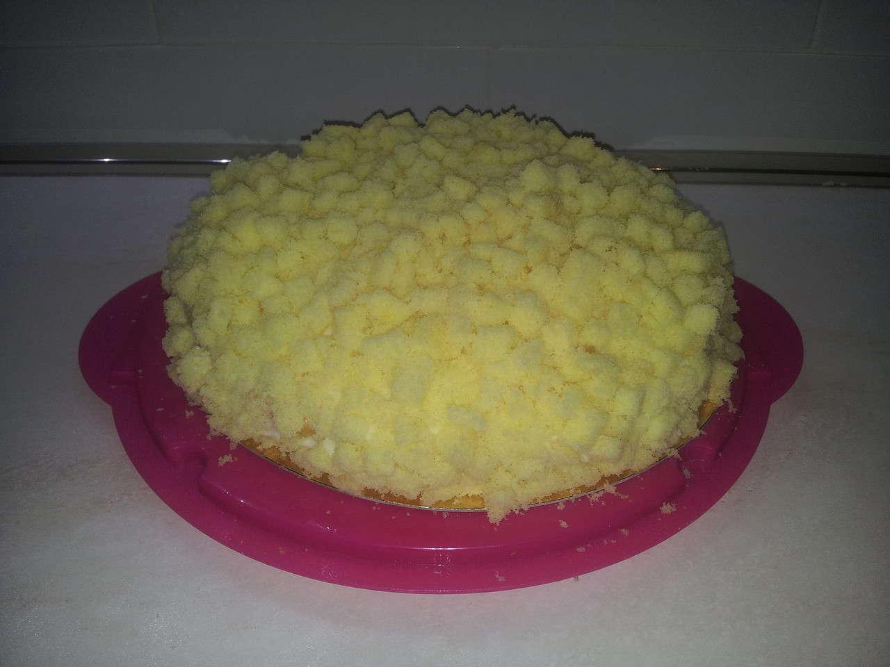 Torta mimosa.