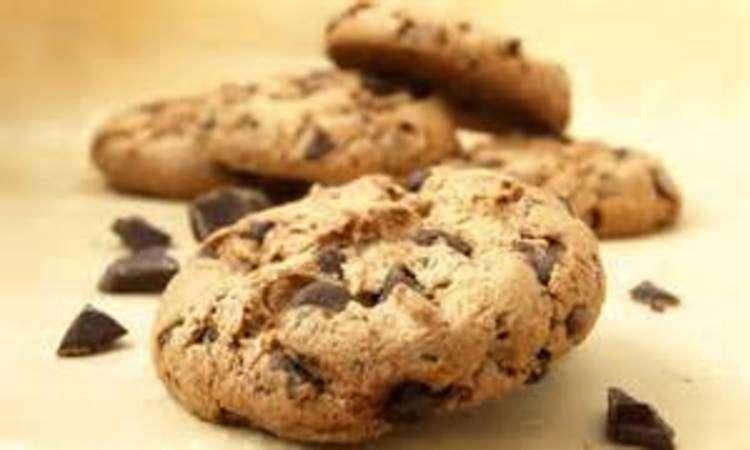 Biscotti gluten free con gocce di ciocolato