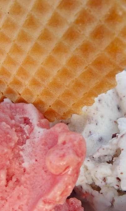 Gelato allo yogurt vanigliato