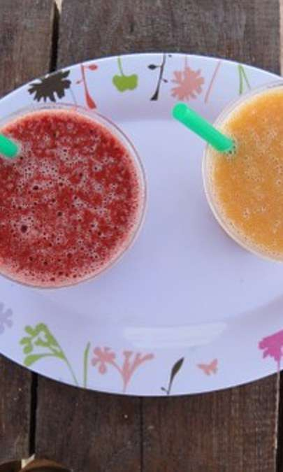 Sorbetti di frutta fresca