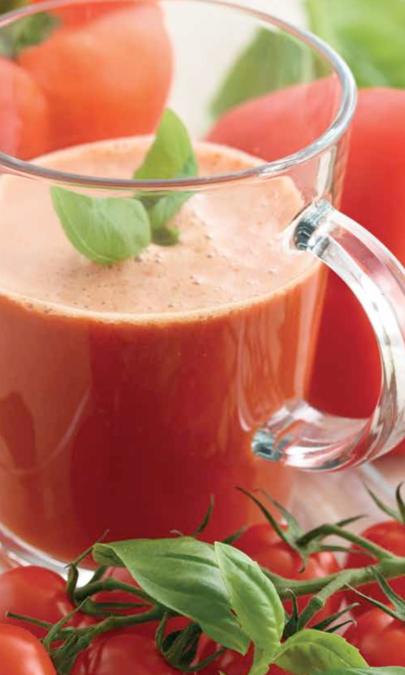 Pomodoro e peperone rosso