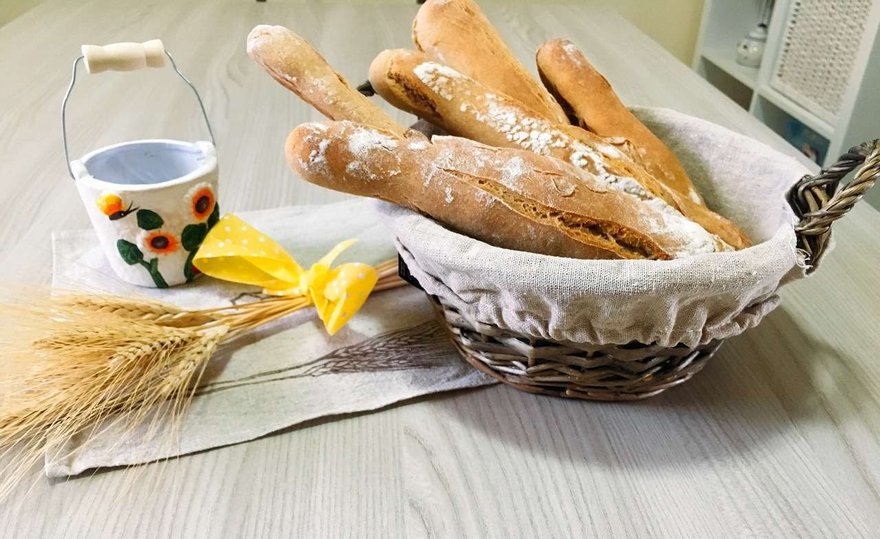 Sfilatini di pane integrale