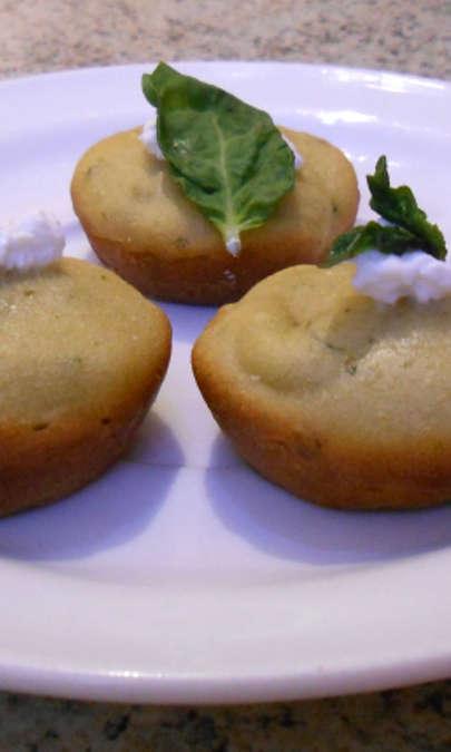 Cupcakes al basilico