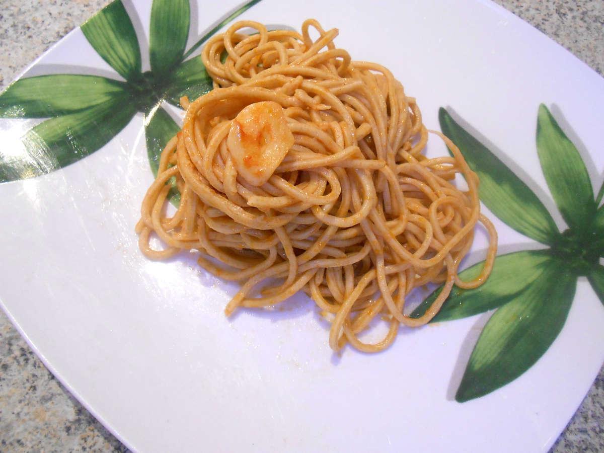 spaghetti speziati al pomodoro