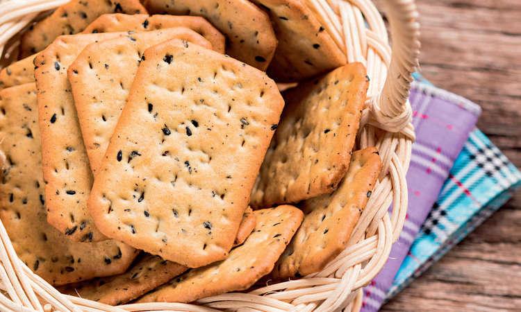 Crackers all'origano