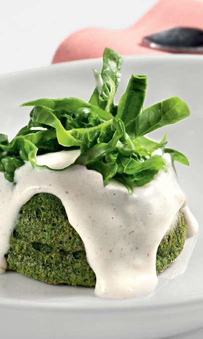 Sformatini ricotta e spinaci