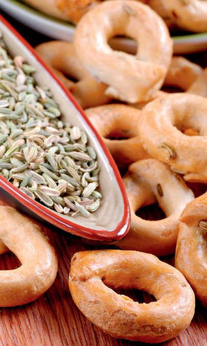 Tarallini ai semi di finocchio