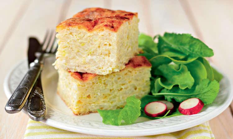 Visual tortino patate riso