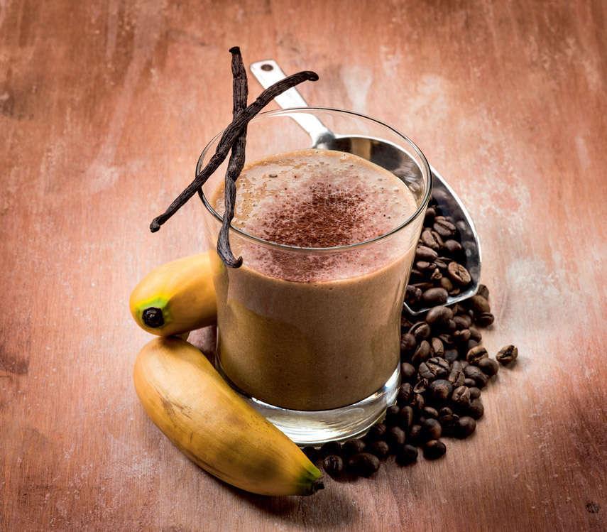 Frullato al caffè e banane al profumo di cardamomo