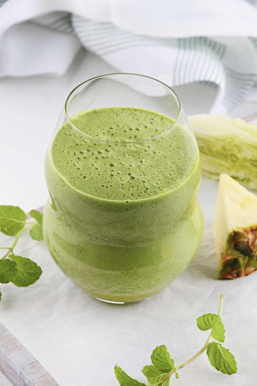 Frullato verde antiossidante