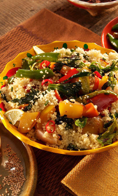 Cous cous gluten free con sugo alle verdure