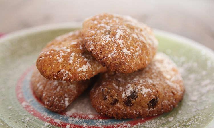 Zaeti - biscotti con mais e uvetta -