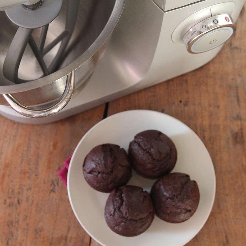 Muffin cacao e zucchine
