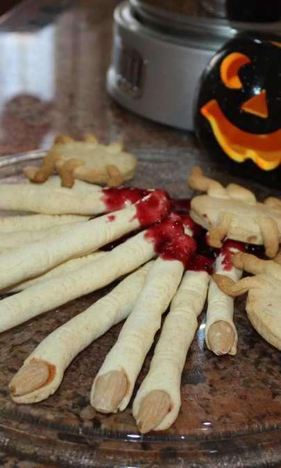 Dita stregate senza glutine