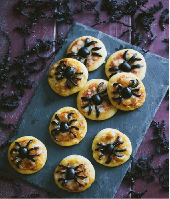 Pizzette ragno di Sonia Peronaci