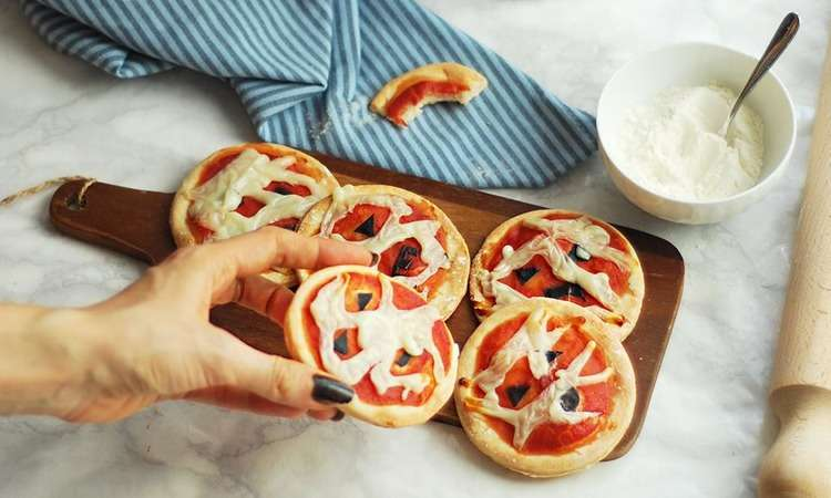 Pizzette furbe allo yogurt