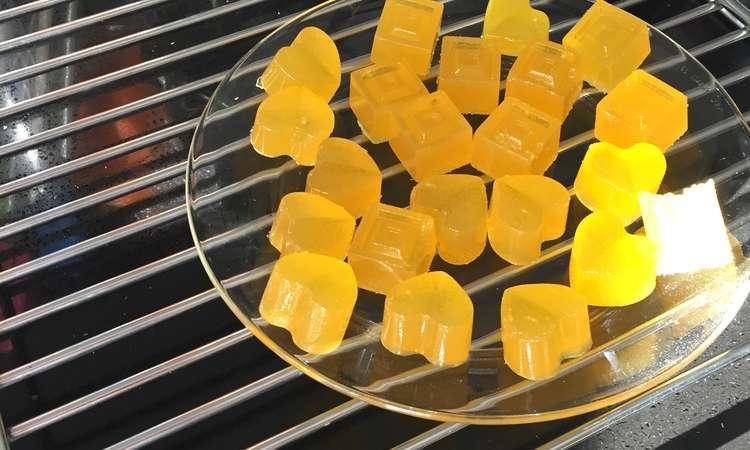 Caramelle gelee all arancia
