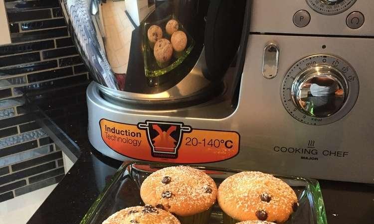 Muffin con goldie di cioccolato