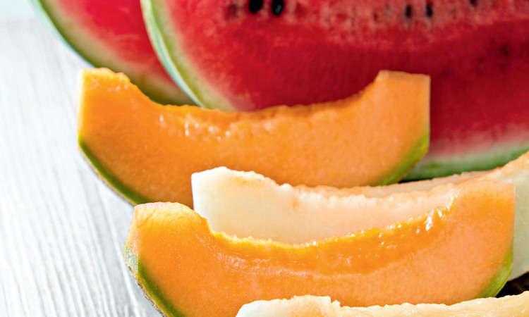 Zuppa di anguria e melone