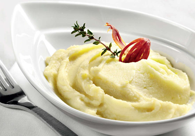Purè di patate, cannellini e rosmarino