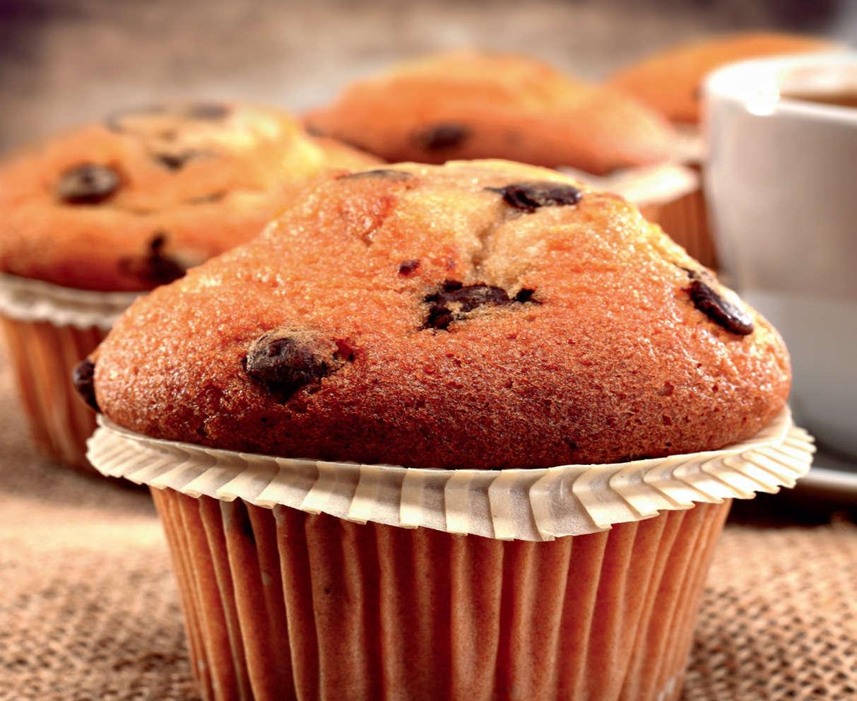 Muffin alla banana e cannella